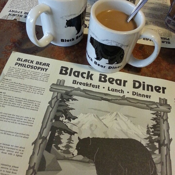 Photo taken at Gilbert Black Bear Diner by Cup C. on 3/9/2013