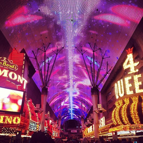 Photo taken at Fremont Street Experience by Ashley M. on 5/12/2013