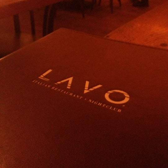 Photo taken at Lavo by Cat H. on 11/28/2012