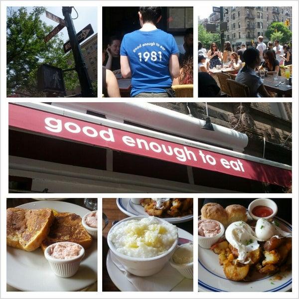 Photo taken at Good Enough to Eat by Doug K. on 6/22/2013