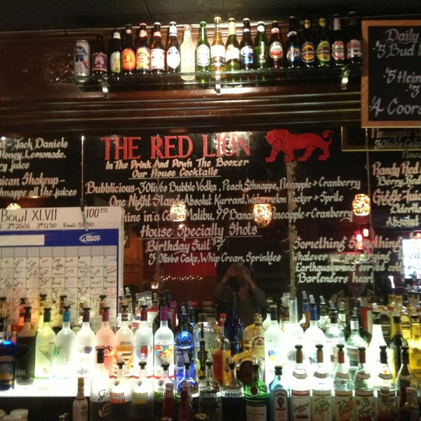 Photo taken at The Red Lion by Victoria on 1/19/2013