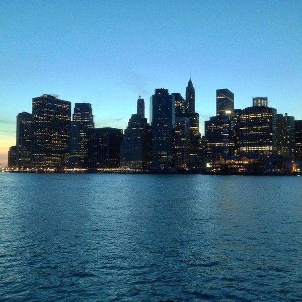 Photo taken at Brooklyn Bridge Park by Jean-Baptiste R. on 4/6/2013