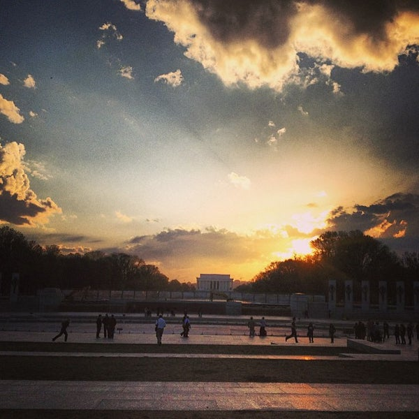 Photo taken at World War II Memorial by Timothy W. on 4/12/2013