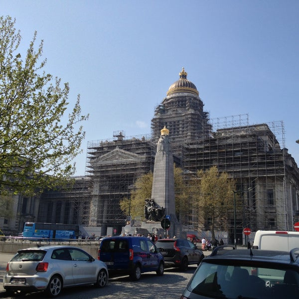 Photo taken at Justitiepaleis / Palais de Justice by Альберт on 5/6/2013