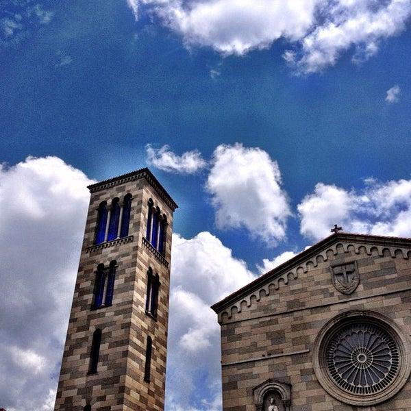 Photo taken at Iglesia Nuestra Señora De La Chiquinquira by Ciro U. on 10/7/2012