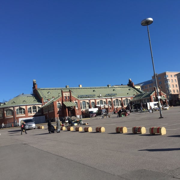 Das Foto wurde bei Hietalahdentori von Rasmus S. am 5/3/2017 aufgenommen
