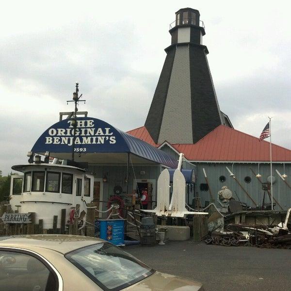 Photo taken at The Original Benjamin's Calabash Seafood by Joe B. on 4/25/2013