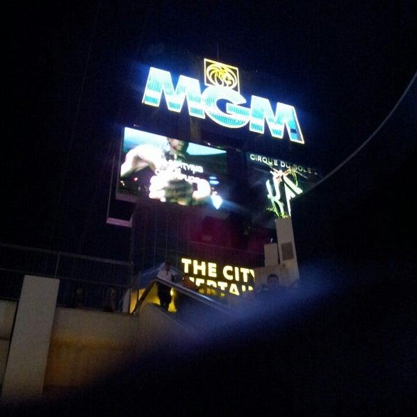 Photo taken at MGM Grand Hotel & Casino by Kasim K. on 3/28/2013