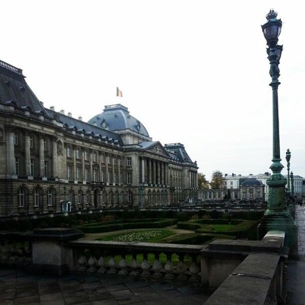 Photo taken at Paleizenplein / Place des Palais by Bader N. on 11/20/2012