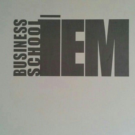 Foto tomada en IEM Business School por José Antonio S. el 1/26/2013