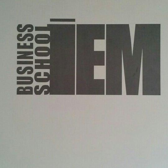 Foto tomada en IEM Business School por José Antonio S. el 1/25/2013