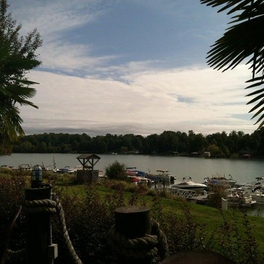 Photo taken at Eddies on Lake Norman by Nancy P. on 10/14/2012