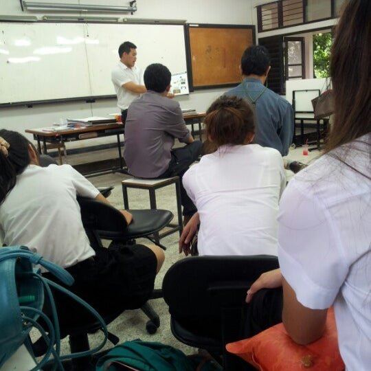 Photo taken at Faculty of architecture rmutl by Bunny K. on 9/21/2012