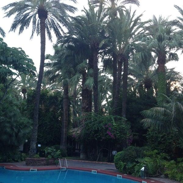 Foto tomada en Hotel Huerto del Cura por Toni el 9/5/2013