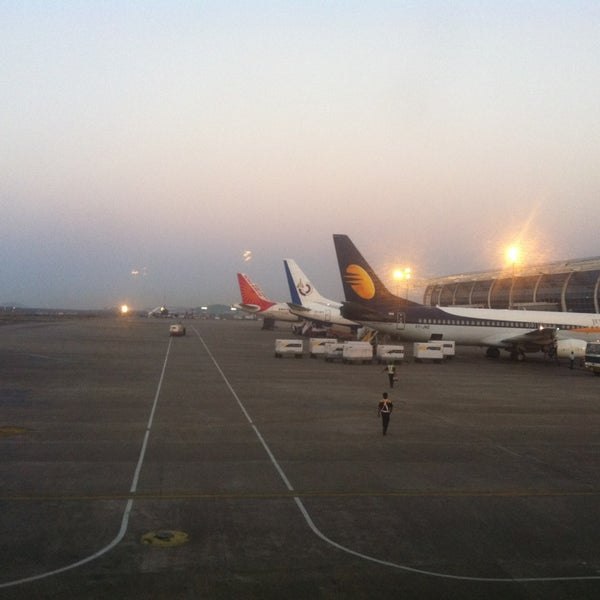 Photo taken at Goa International Airport / Dabolim Airport (GOI) by Skylander w. on 2/19/2013