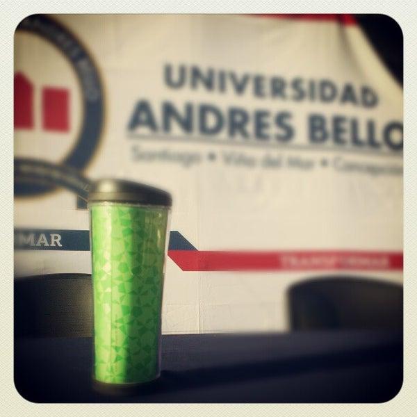 Foto tomada en Universidad Andrés Bello por Mauricio A. el 5/11/2013