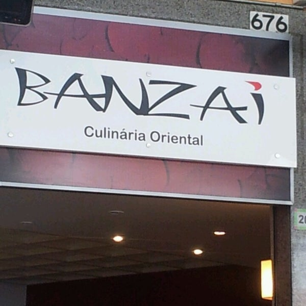 Photo taken at Banzai - Culinária Oriental by Iona A. on 4/13/2013