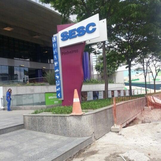 Photo taken at SESC Pinheiros by Betão T. on 9/23/2012