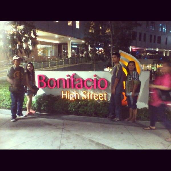 Photo taken at Bonifacio High Playground by Jeff C. on 3/22/2013