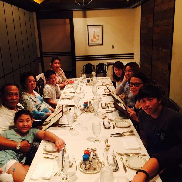7/26/2015にJaruna C.がLawry's The Prime Rib, Tokyoで撮った写真