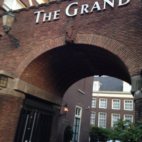 Photo taken at Sofitel Legend The Grand Amsterdam by Wiebe G. on 10/30/2013