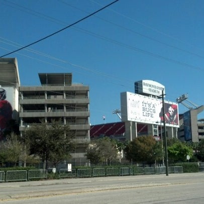 Photo taken at Raymond James Stadium by Paula B. on 1/27/2013