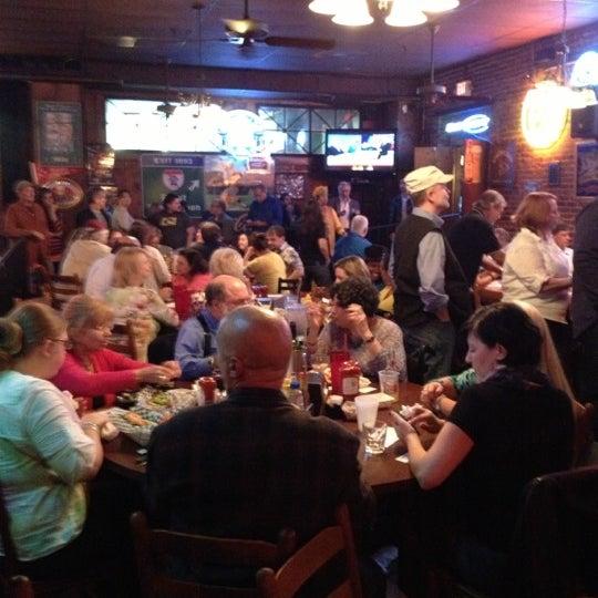 Photo taken at Manuel's Tavern by Kimberly K. on 10/4/2012
