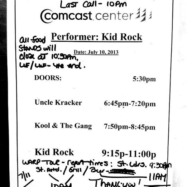 Photo taken at Xfinity Center by Faith K. on 7/10/2013