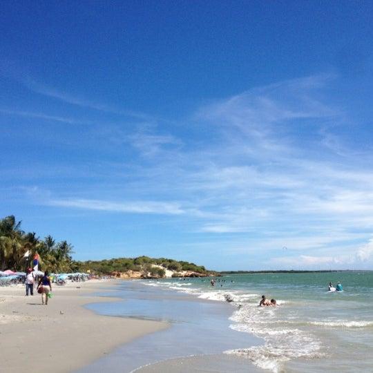 Photo taken at Playa El Yaque by Beyla on 11/16/2012