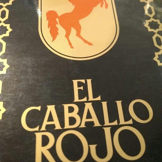 Photo taken at Restaurante El Caballo Rojo by Jordi S. on 2/1/2014