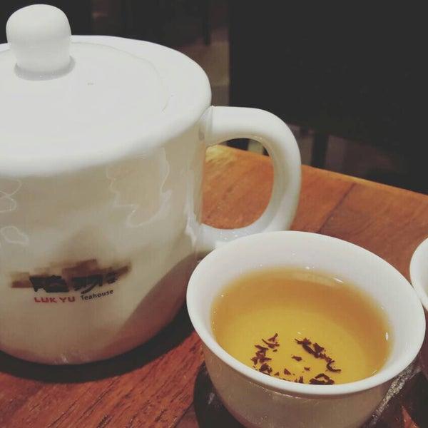 Photo taken at Luk Yu Tea House 陸羽茶樓 by Bom N. on 9/20/2015