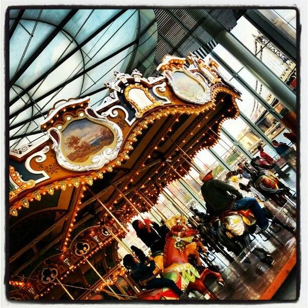 Photo taken at Jane's Carousel by John Paul R. on 10/6/2012
