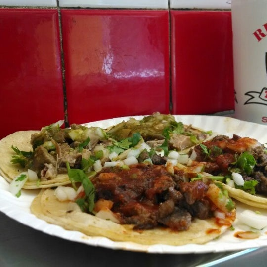 Photo taken at Javier's Tacos Mexico by Esteban S. on 4/28/2014