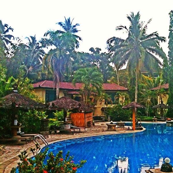 Photo taken at Tasik Ria Resort by Francina Carolina S. on 5/8/2013