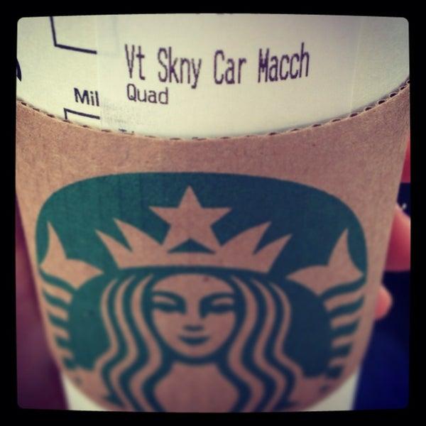 Photo taken at Starbucks by Emily G. on 3/5/2013