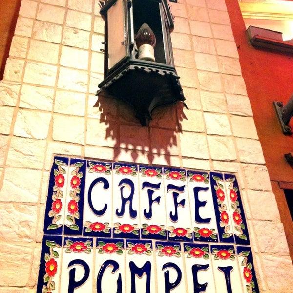 Photo taken at Caffe Pompei by Mike T. on 6/23/2013