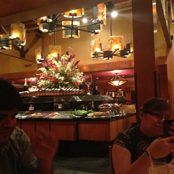 Photo taken at Fogo de Chao Brazilian Steakhouse by Federico on 7/12/2013