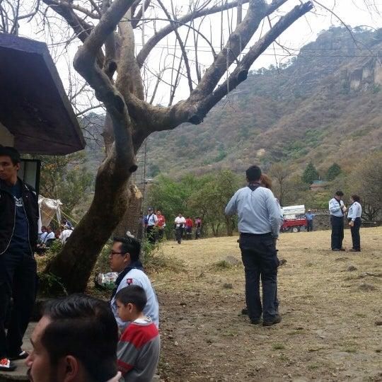 Foto tirada no(a) Campo Escuela Scout Meztitla por Miguel Andrés L. em 3/15/2015