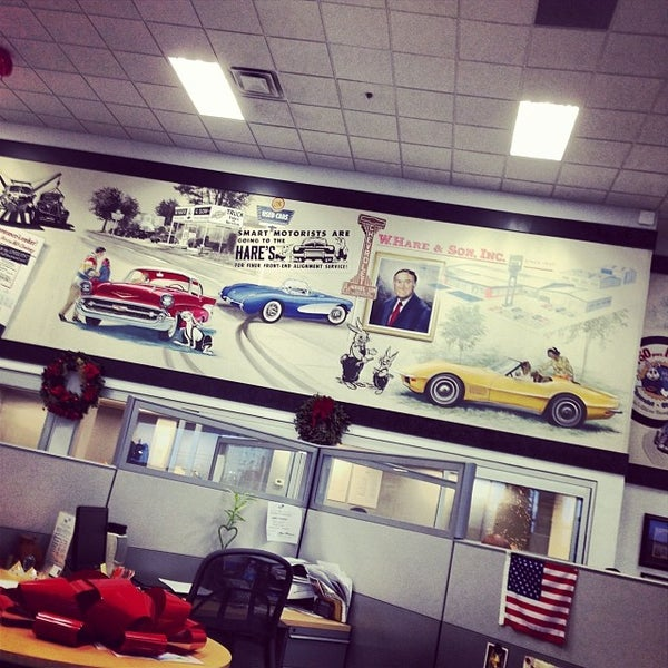Photo Taken At Hare Chevrolet By Kyle L. On 1/2/2014