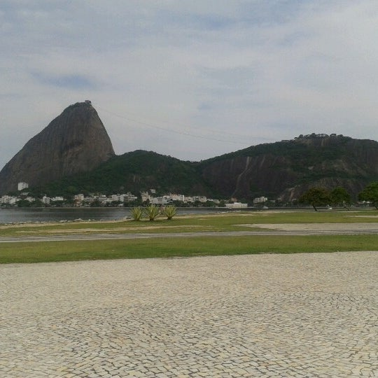 Photo taken at Flamengo Park by Juliana L. on 10/23/2012