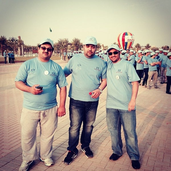 Photo taken at King Abdullah Park by Mohammed A. on 11/14/2013