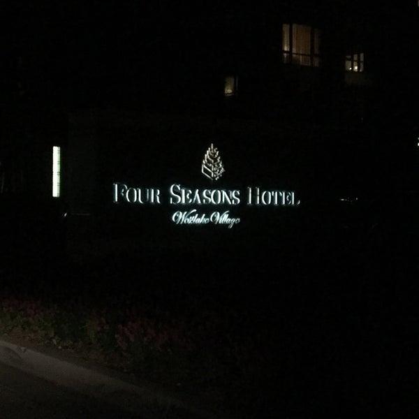Photo taken at Four Seasons Hotel Westlake Village by Sarah on 10/24/2017