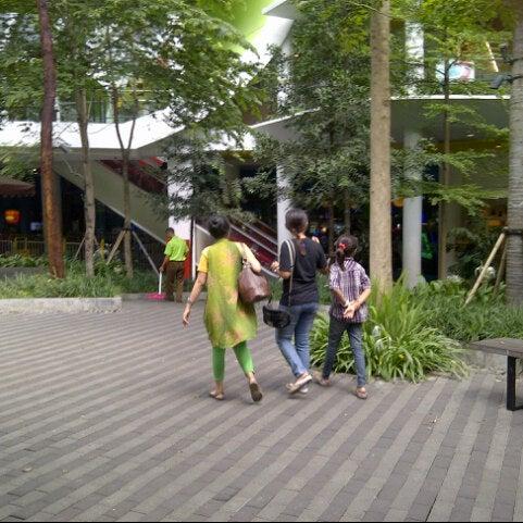 Photo taken at Cihampelas Walk (CiWalk) by lyon wahyu s. on 10/25/2012