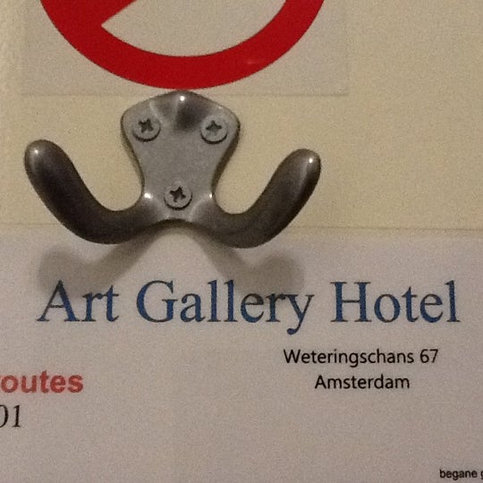 Photo taken at Hotel Art Gallery by Alena on 10/31/2012