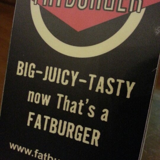 Photo taken at Fatburger by Areej on 1/23/2013