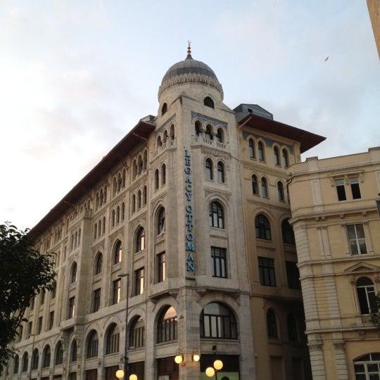10/1/2012 tarihinde Ayse Nur G.ziyaretçi tarafından Legacy Ottoman Hotel'de çekilen fotoğraf