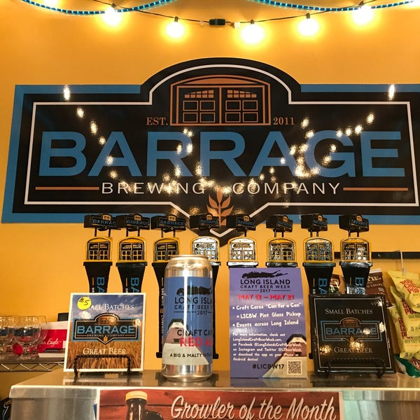 Barrage Brewing Company Llc Brewery In Farmingdale