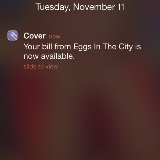 Photo taken at Eggs In the City by Bryce R. on 11/11/2014