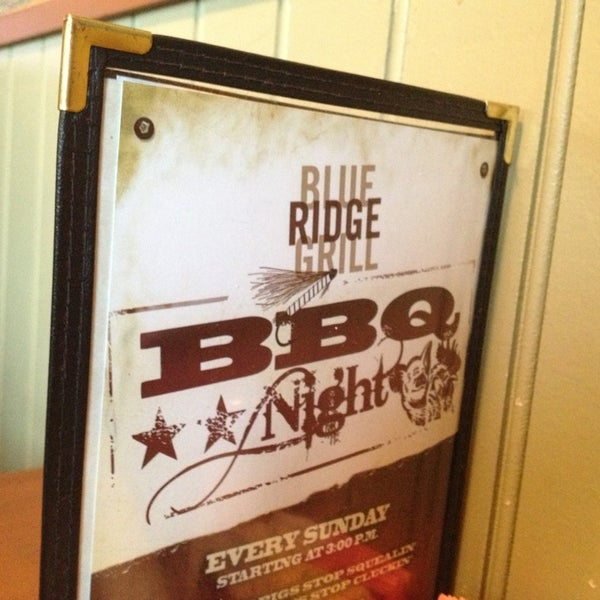 Photo taken at Blue Ridge Grill by Christopher L. on 1/27/2013