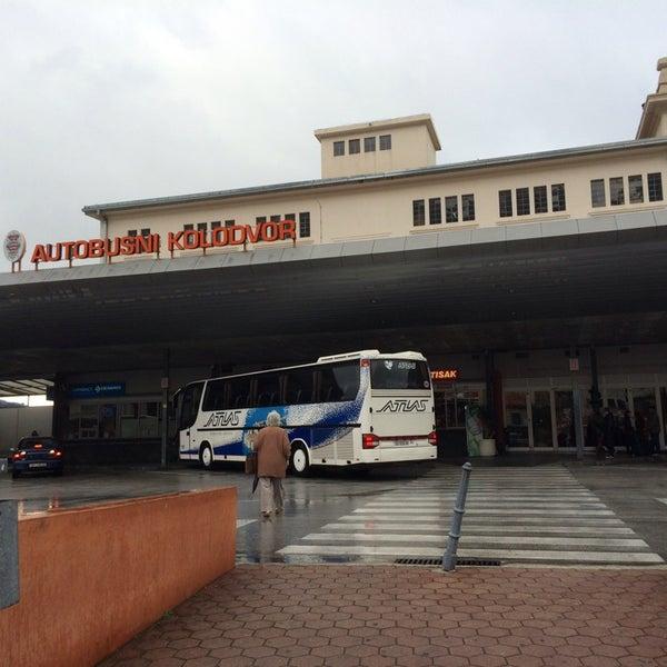 Photo taken at Autobusni Kolodvor Dubrovnik | Dubrovnik Bus Station by Anne D. on 1/2/2014